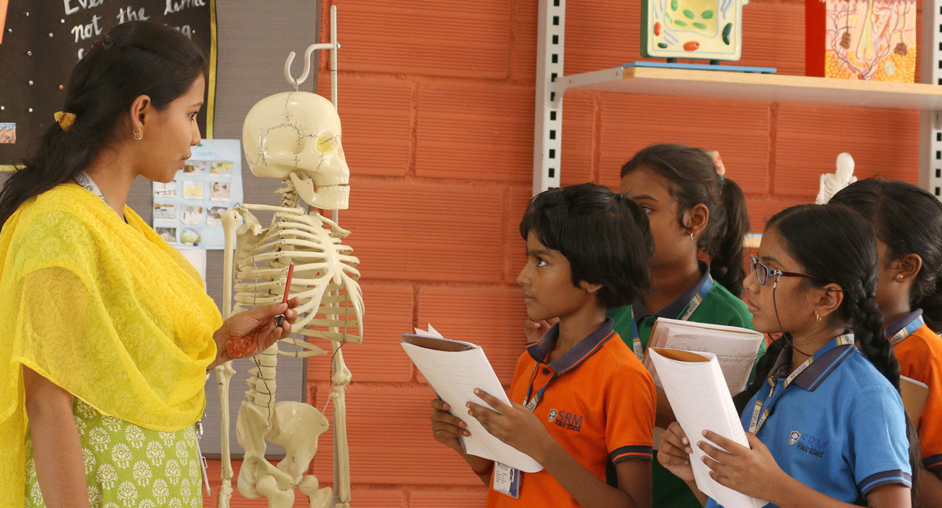 Labs at SRM Public School