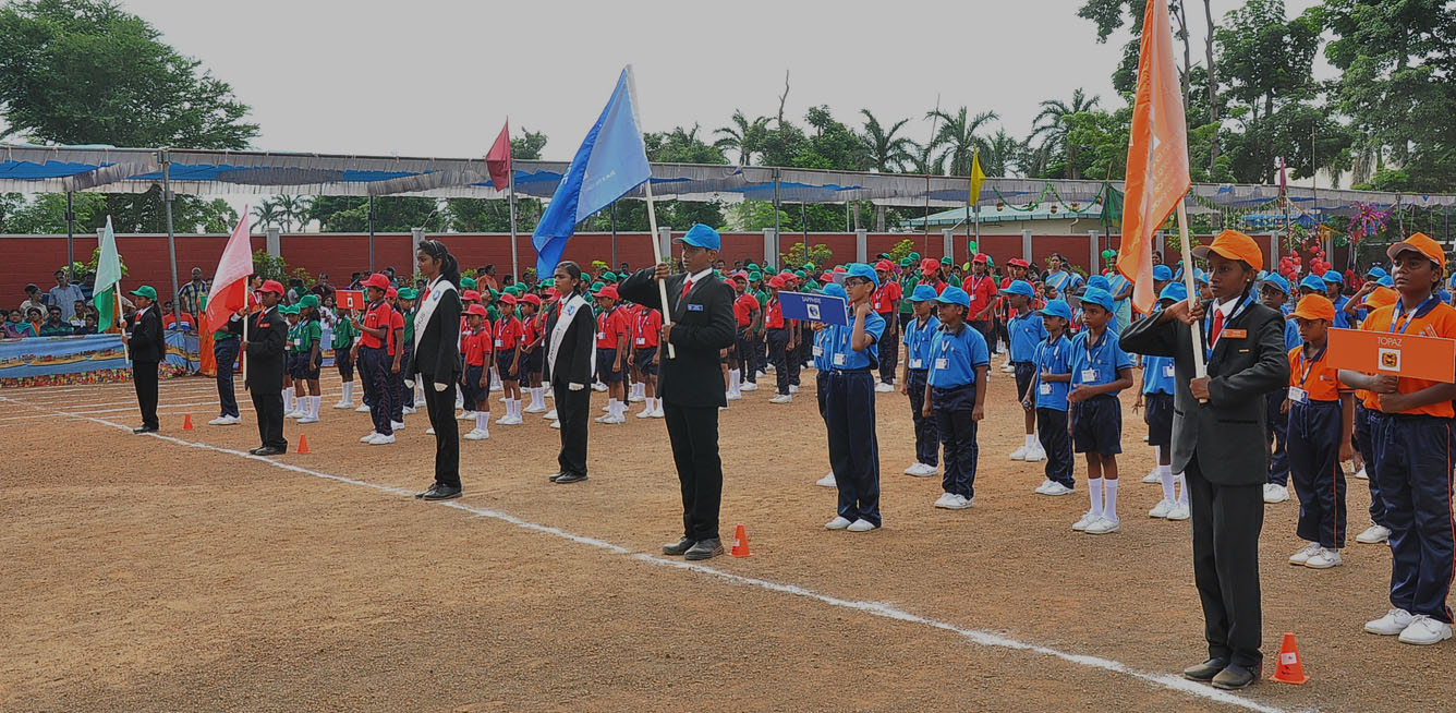 Sports Day at SRM Public School